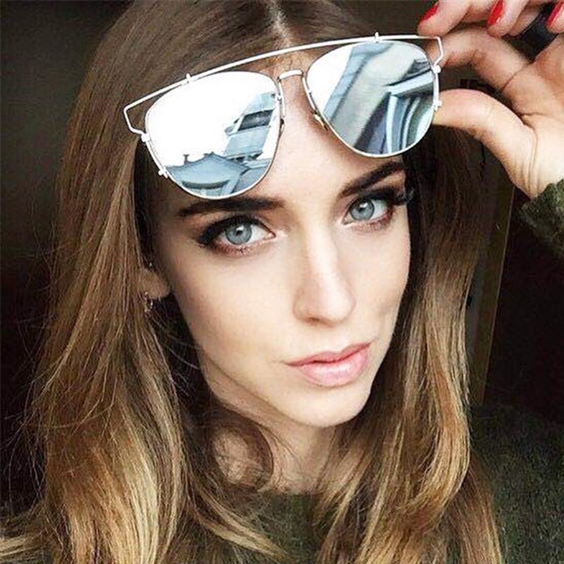 Oversized Mirrored Sunglasses  por mirrored oversized sunglasses 62 mirrored