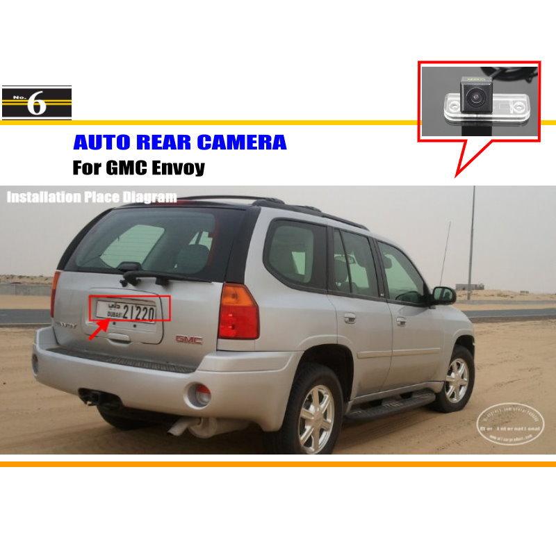 For GMC Envoy / Safari / Savana / Terrain / Yukon- Car Rear View Camera / Back Up Reverse Parking Camera / HD CCD Rearview(China (Mainland))