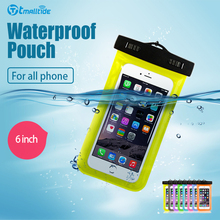 Tmalltide Clear Waterproof Bags Pouch Dry Cover Cases For iPhone 5S Case 4S 6S 7 Plus Case(China (Mainland))