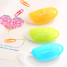 1 Pc / Pack   New Creative Deli 6 M Long Cute Correction Tape Combined School Suppliers Stationary Gift(China (Mainland))
