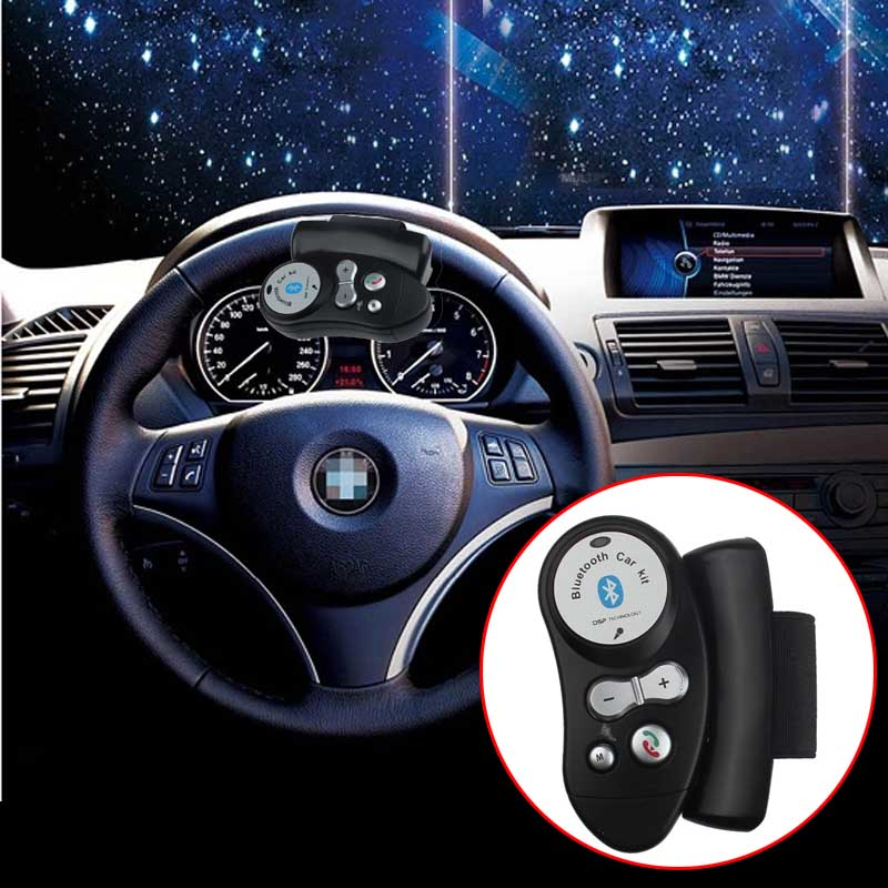 New Arrival Universal Steering Wheel Handsfree Bluetooth Car Kit Speakerphone Speaker(China (Mainland))
