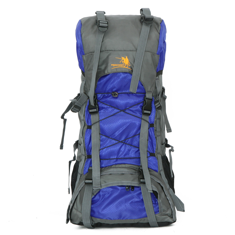60L large men women backpack for travel climbing backpack ...