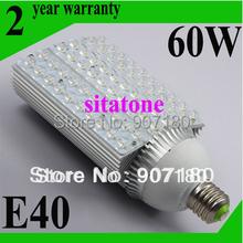 2 Stück/viel versandkostenfrei verkauf ac85-265v e40 60w led-straßenleuchte 2 jahre garantie 60*1w led-straßenlaterne lampe(China (Mainland))