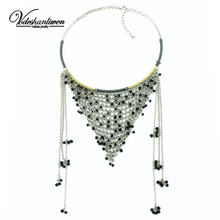Buy Vodeshanliwen 2015 New ZA Brand Chain Necklaces & Pendants Fashion Collar Statement Necklace Woman Tassel Chokers Necklaces for $10.28 in AliExpress store