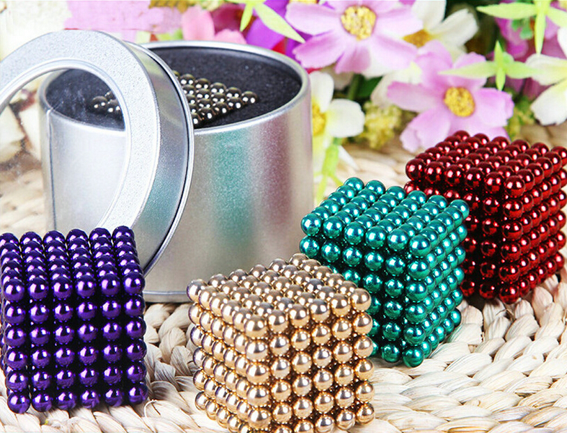 5mm 216pcs Metaballs Magnetic Balls Magnet Neo Cube Magic Toys New Year Magnet Block Cubo Magico Toys DIY Toys(China (Mainland))