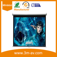 """Buy Octagon manual screen 84"""" 16:9 Manual Pull Auto-Lock Projector Projection Screen HD for $298.99 in AliExpress store"""