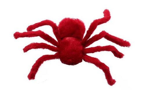2 Pcs/Lot 30cm Large Spider Plush Toy / Halloween Decor - Red<br><br>Aliexpress