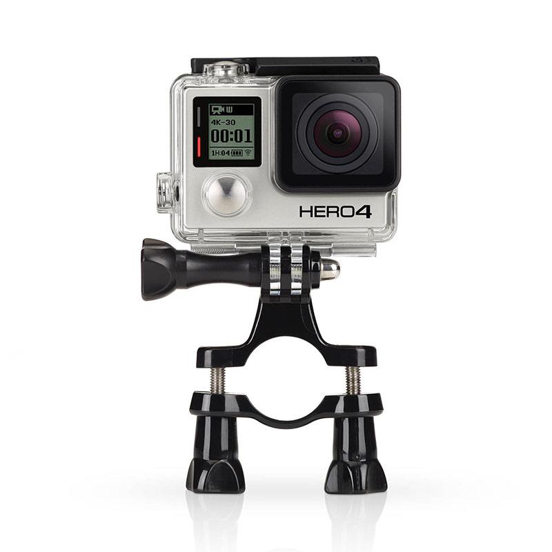 Sj4000 Bike Holder Adapter Go Pro Seatpost Handlebar Mount For Gopro Hero 4 3 Sj5000 Sjcam Xiaomi Yi 2 Action Camera Accessories