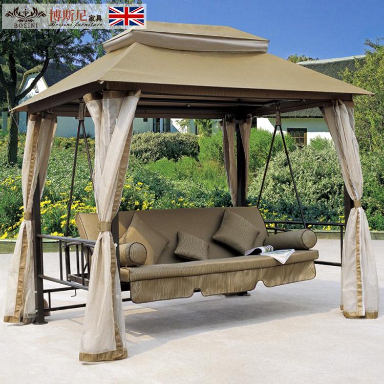 Columpio nido cesta colgante silla muebles de jard n - Sillas colgantes del techo ...