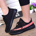 Men TrainersBre athable Light Soft Men shoes 2017 Comfortable Fly Weave Fashion Casual Shoes Flat walking
