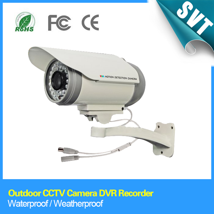 Outdoor CCTV Camera DVR Recorder IR Night Vision and Weatherproof Support Max 32G TF/Micro SD Card Slot SSE-16(China (Mainland))