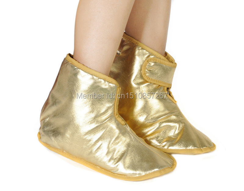 vibrating golden foot massage heating mitten hot sell in Oversea country(China (Mainland))