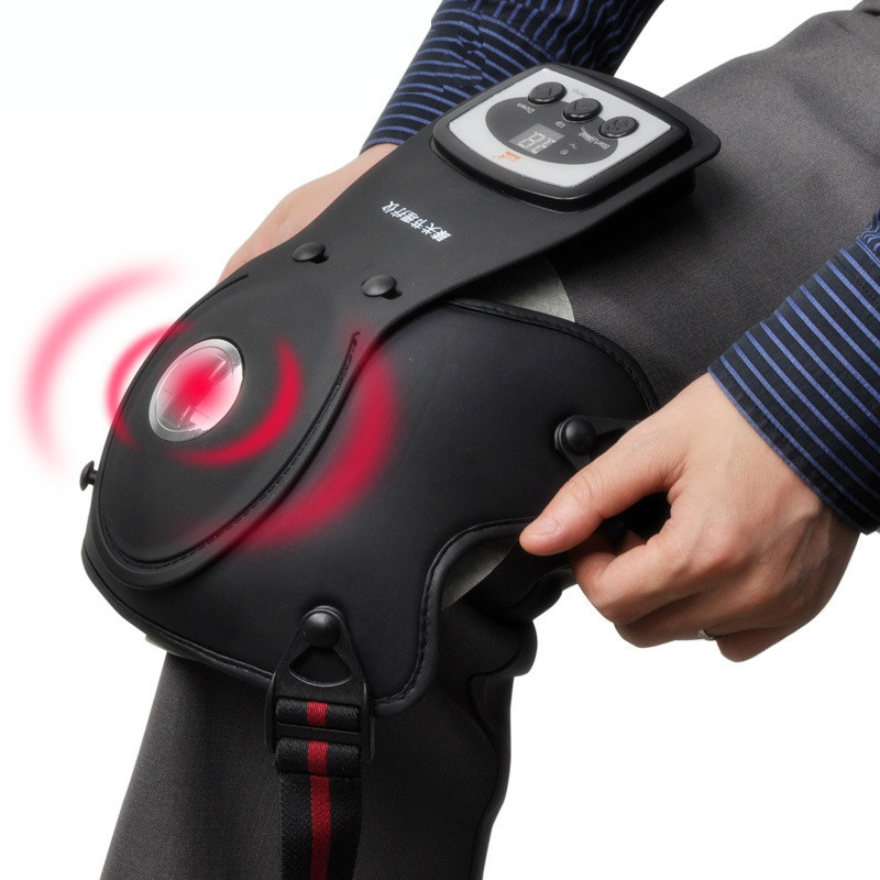 DHL Knee physiotherapy device Photon therapy device Massager Far infrared/ Heating/ magnetic/Vibration joint care master pads(China (Mainland))