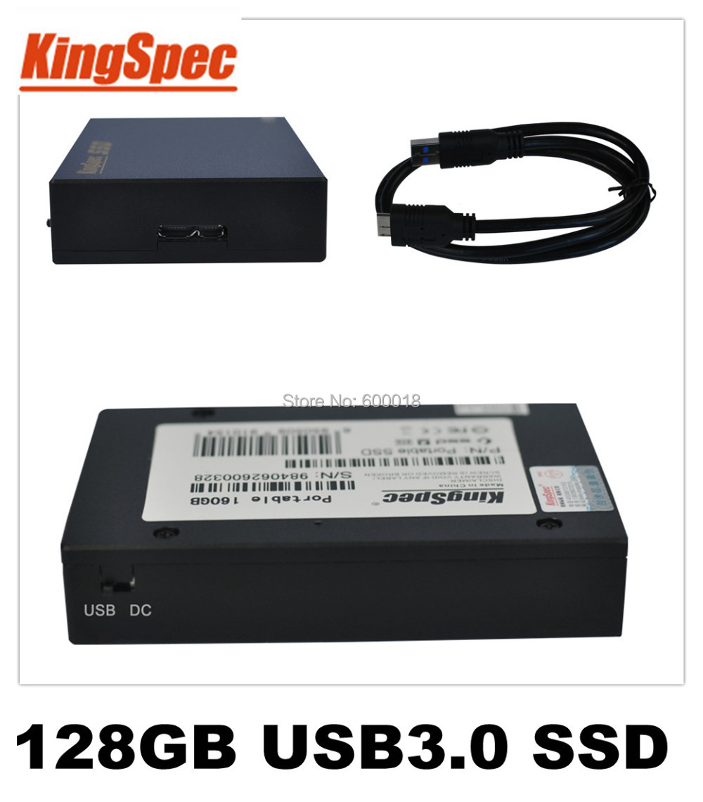 Kingspec USB 3.0 External Solid State Drives Hard Drive 128GB disk HDD SSD 4-Channel usb Flash Drives Storage Dropshipping<br><br>Aliexpress