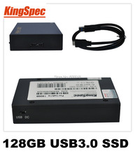 Kingspec USB 3.0 External Solid State Drives Hard Drive 128GB disk HDD SSD 4-Channel usb Flash Drives Storage Dropshipping(China (Mainland))