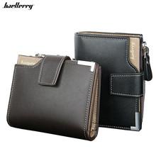 Buy New 2017 Short Wallets Leather Brand Men Wallets Dollar Price Bifold Wallet Men Card Holder Coin Purse Pockets Zipper for $5.67 in AliExpress store