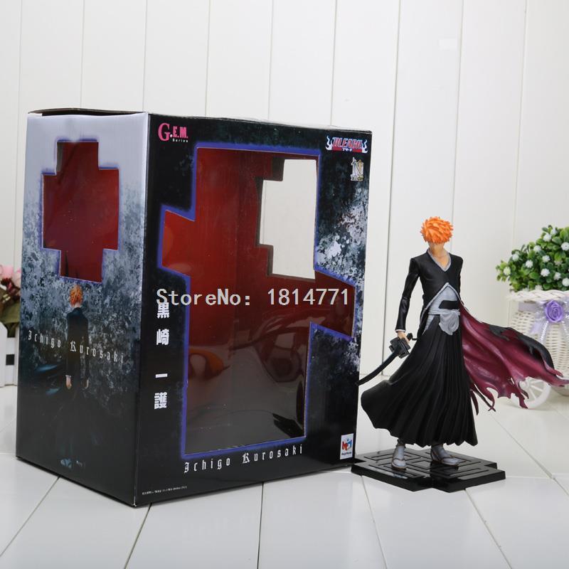 19cm Bleach Figure Toy PVC Kurosaki Ichigo action figure toys New in Box Model(China (Mainland))