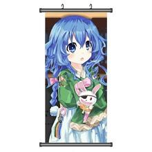 45X95CM Date A Live Spirits Yoshino Moe Japan Cartoon Anime print art wall picture mural poster art cloth scroll canvas painting