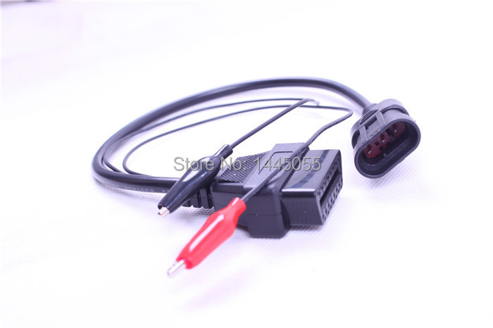 2015 newest OBD OBD2 Fiat 3 Pin Alfa Lancia to 16 Pin Diagnostic Cable Fiat 3Pin car connector(China (Mainland))