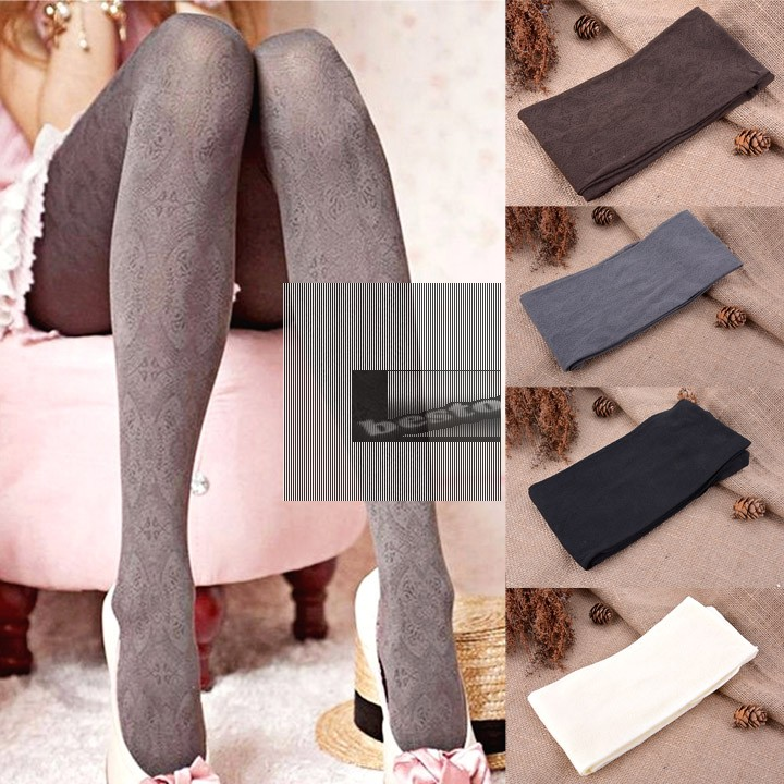 2014 New Spring Autumn and Winter Brushed Fiber Plus Velvet Slim Pantyhose for Women Sexy Tights Stocking 35(China (Mainland))