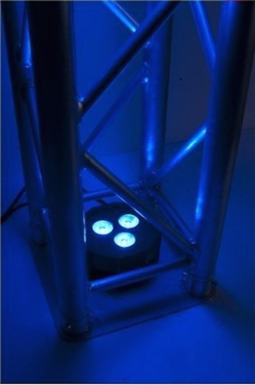 20pcs/lot, Disco Light LED Par 3x9W RGB Tri 3in1 Flat par36 led light dmx dj party wedding lighting equipment(China (Mainland))
