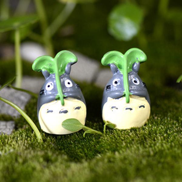 5pcs anime figures aquarium bonsai garden decoration for Figurine decoration jardin