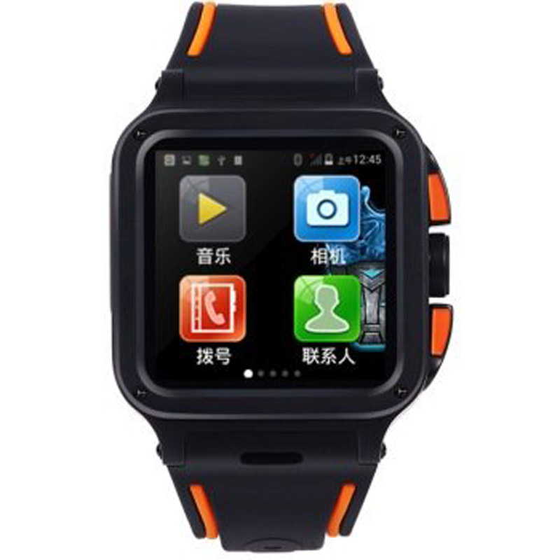 "2016 new UNOVA IRON MAN 1.54"" Android Smart watch , Dual-Core 1GB/8GB Waterproof Camera WIFI GPS PK Hua wei ,S2 watch(China (Mainland))"