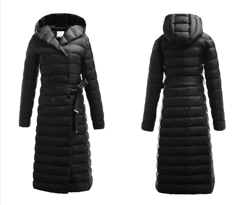 Images of Womens Long Down Coats - Reikian