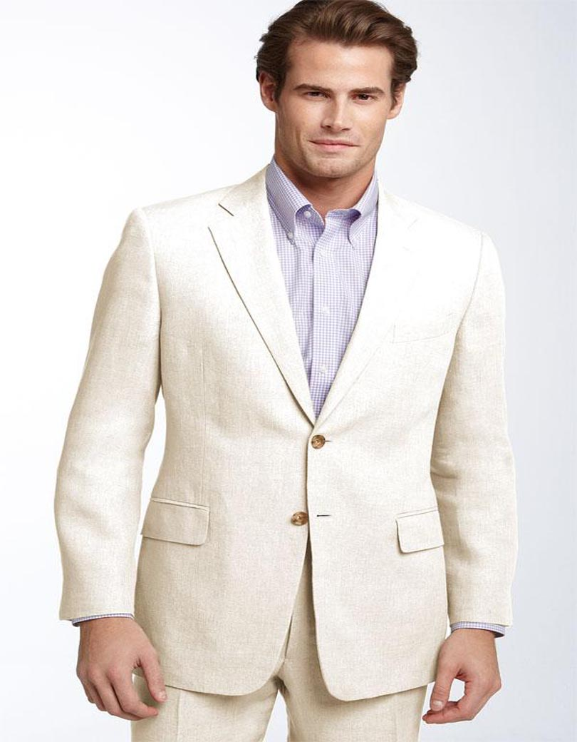 Online Get Cheap Mens Linen Suits Beach Wedding -Aliexpress.com