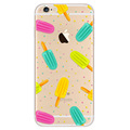 Korea Design Cute Animals Fruits FoodS Clear Back Cover Skin Case For iphone6 6s 4 7
