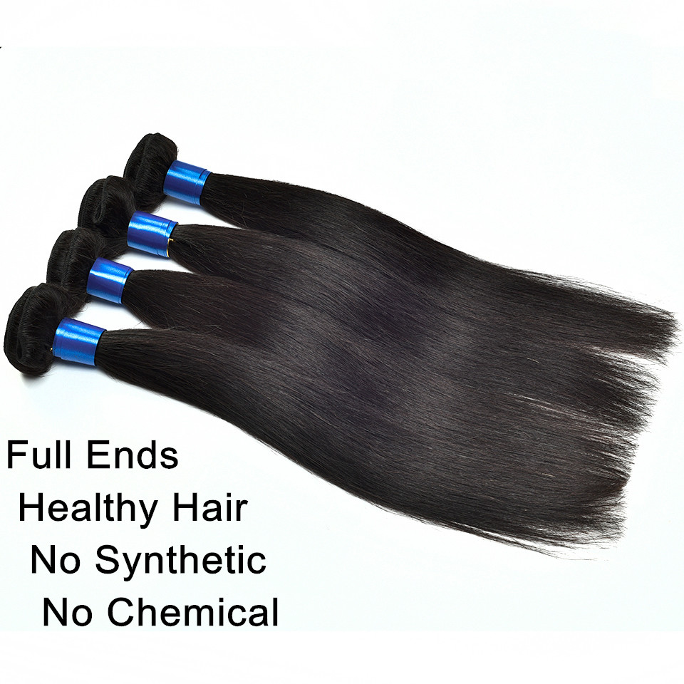 6A virgin Indian hair straight hair extensions 2PCs/lot unprocessed human hair bundles 8-30 inch remy human hair free shipping<br><br>Aliexpress