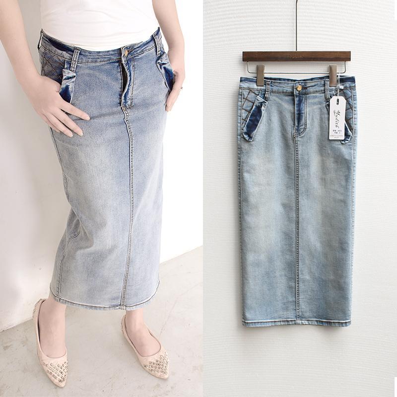 Womens long denim skirts cheap – Fashion clothes in USA photo blog