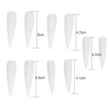 50Pcs Fashionable False Fake Artificial False Nail Nail Artificial Fingernails Manicure Decoration Tips 3 Colors(China (Mainland))