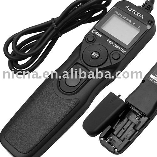 wholesale Fotga Timer Remote Cord for S3 S5 Nikon D2 D3 D200 D300 D300S D700 D800 D810 as MC-36 High Quality(Hong Kong)