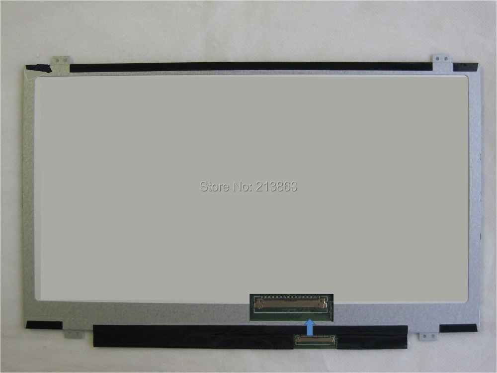 "14"" LCD screen panel B140RW02 V.0 WSXGA 1600*900&Free Shipping(China (Mainland))"