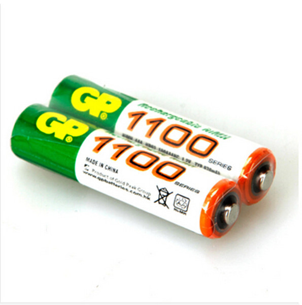 12pcs/lot original GP aaa rechargeable battery 1100mah / gp 1100 / rechargeable battery gp batteries 1.2V Ni-MH + Free shipping(China (Mainland))