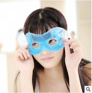 Drive travel The plane train ice eye protection alleviate eye fatigue eye mask to black rim of the eye ice packs(China (Mainland))