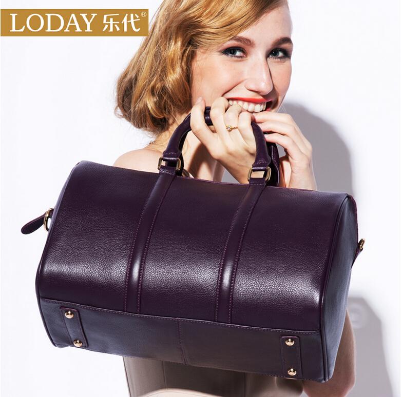 Boston Leather Handbag Shoulder Bag / Handbag Crossbody Bag bag leather diagonal bag lady<br><br>Aliexpress