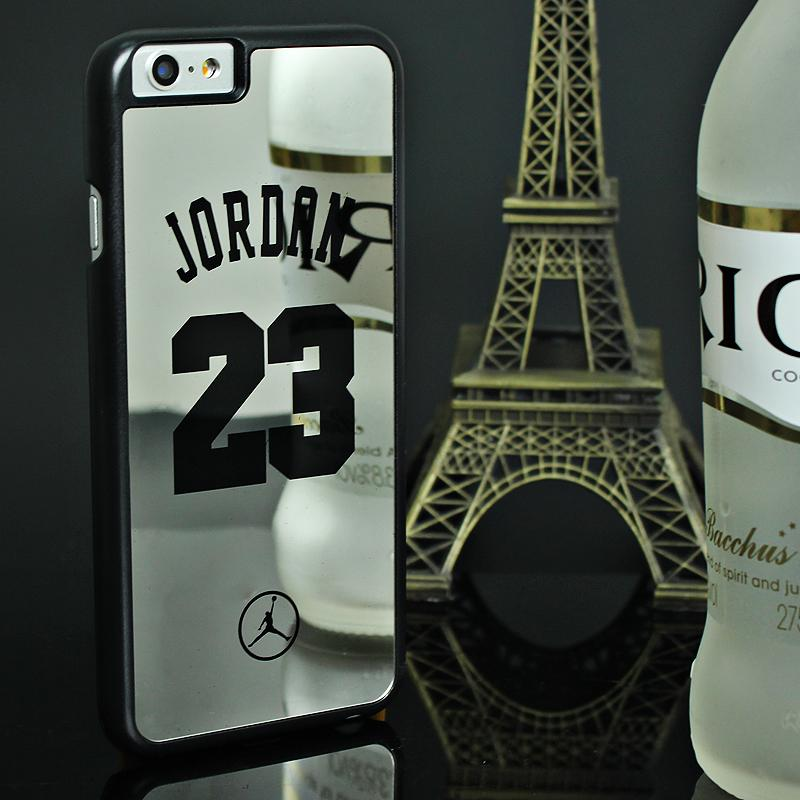 Case for iPhone 6 6S Plus NBA brand Michael Jordan 23 fundas PC Hard Mirror Phone Case Cover for iPhone 6s 6 Plus 5 5s SE Cover(China (Mainland))
