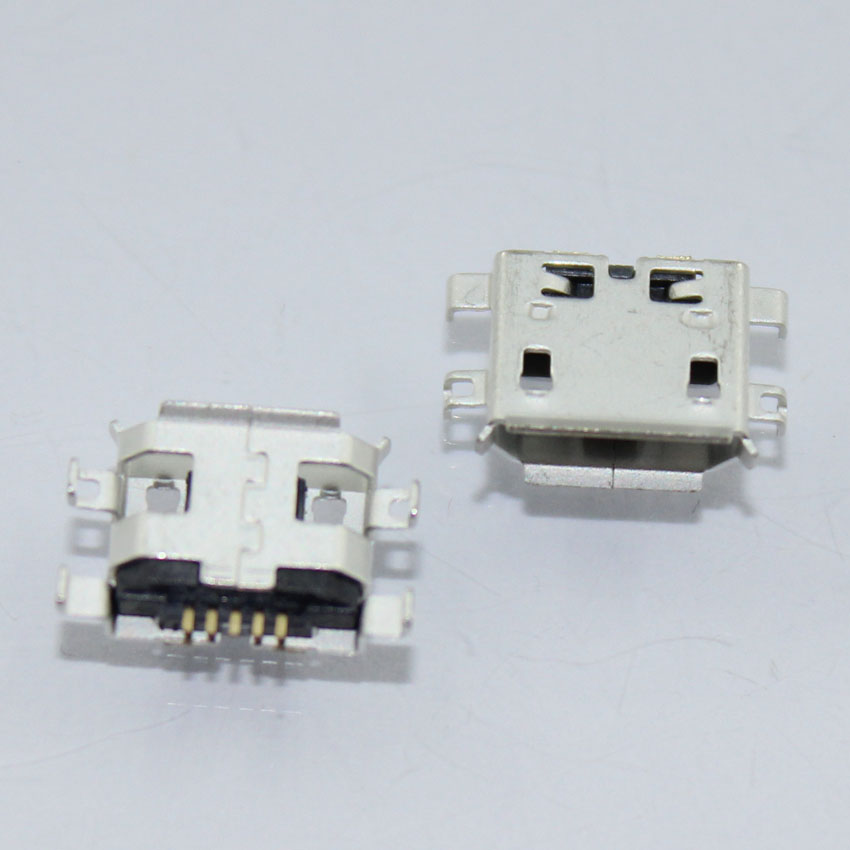 HOT!!50pcs/lot For Netbook / Tablet PC For ASUS / Lenovo / Acer / HP charging ports Mini USB MICRO USB connector 5pin 5-pin(China (Mainland))