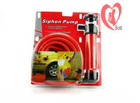 Free Shipping New Gas oil water siphon pump hand air pump syphon hose multi use 5L/min