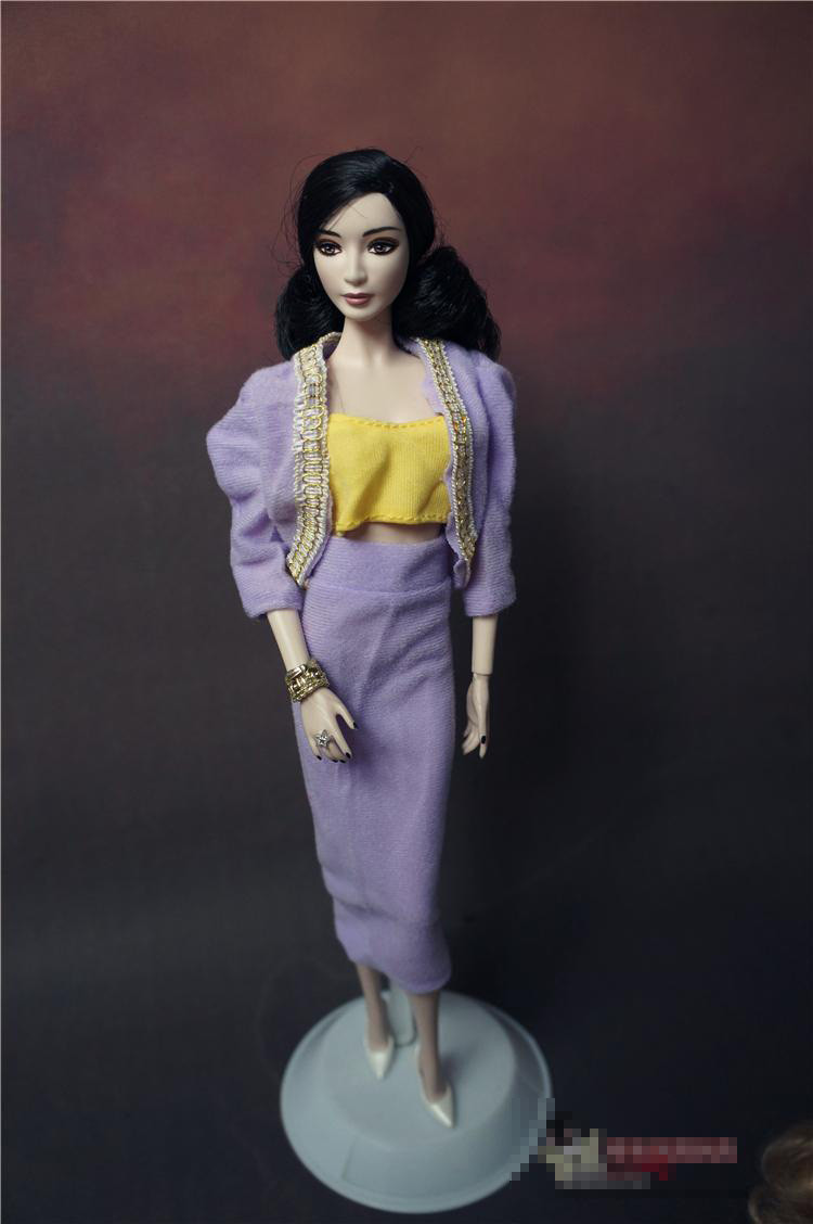 11 types for select Competition Items For Women Present life-style Go well with fur clothes  Garments gown skirt For Barbie 1:6 Doll BBI00610