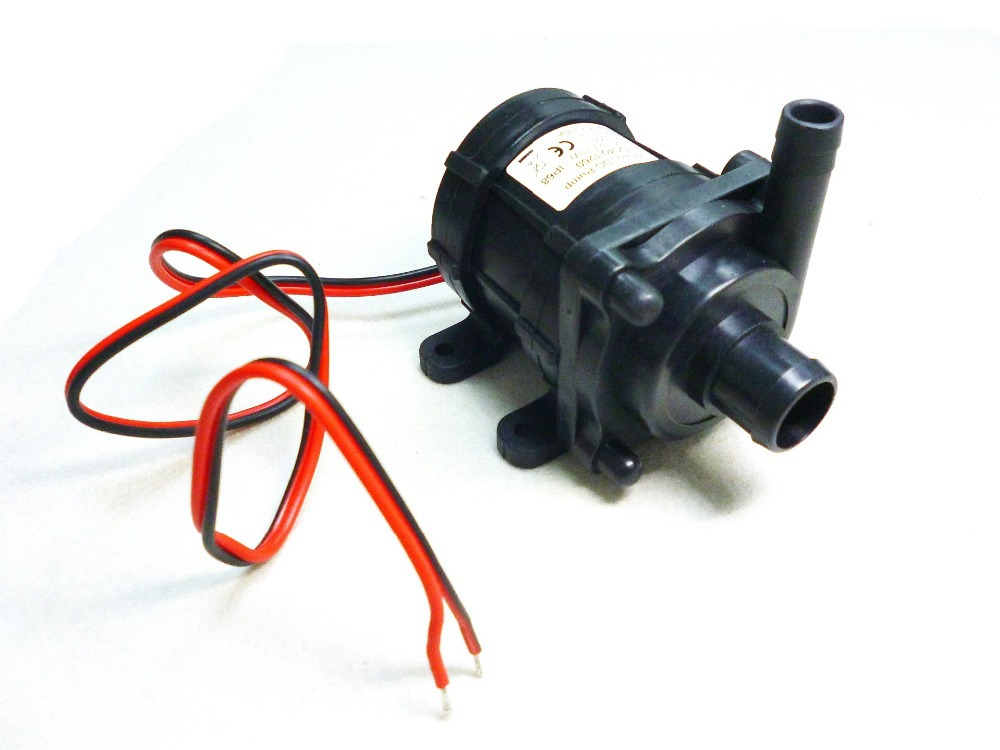 12 v cc sin escobillas sumergible mini baja presi n for Bombas de agua electricas de presion