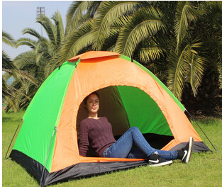 Free shipping! Camping tents Single three to four people camping tents outdoor tent(China (Mainland))