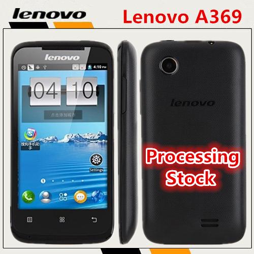 "Original cheap Lenovo A369 3G mobile phone 4.0"" Screen Dual sim 1500mAh battery cell phones Dual core 1.2GHz CPU smartphone(China (Mainland))"