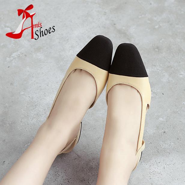 Новое поступление 2016 цвет блока украшения вырез плоские удобные ботинки женщин ...