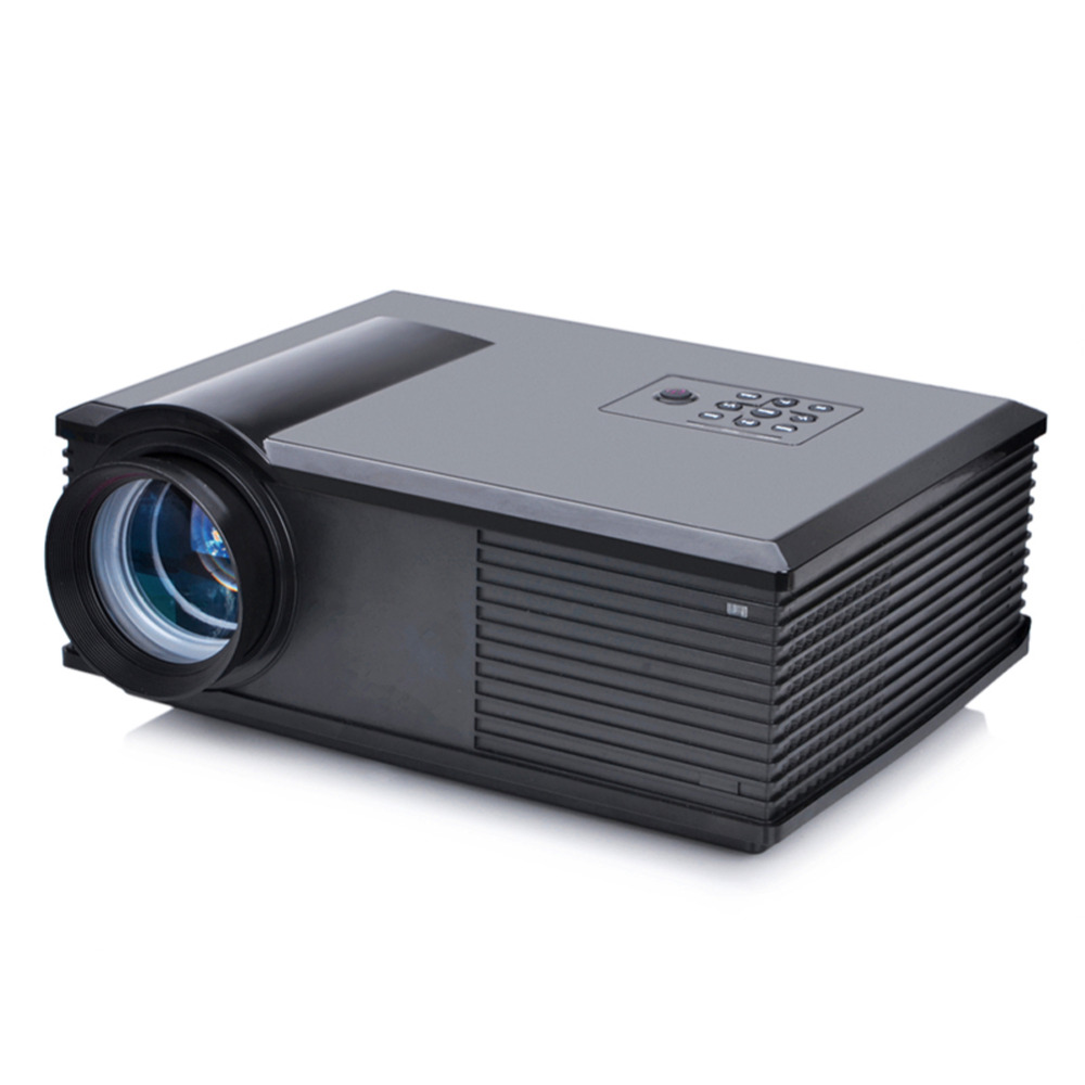 Free shipping 3200 lumens portable dustproof led projector for Pocket projector hdmi input