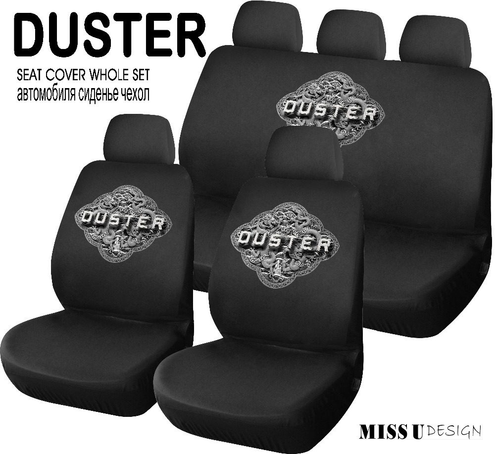 buy renault duster car seat cover styling logo universal size car interior. Black Bedroom Furniture Sets. Home Design Ideas