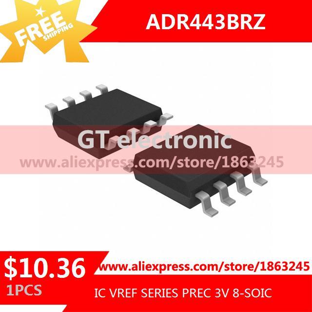 Free Shipping Integrated Circuit ADR443BRZ IC VREF SERIES PREC 3V 8-SOIC 443 ADR443 1pcs(China (Mainland))