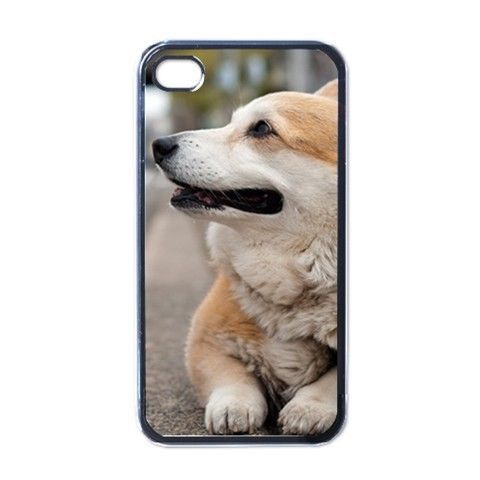 Design Corgi Pembroke Cardigan Dog Puppy Puppies 4 4sCase Cover Free shipping(China (Mainland))